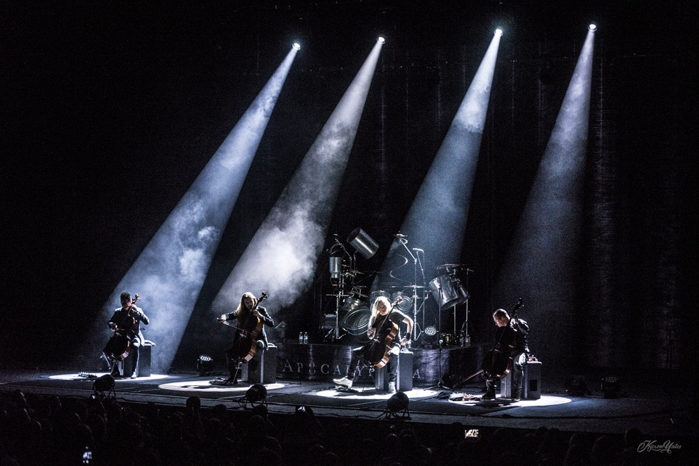 Apocalyptica play Theatre St.Denis in Montreal