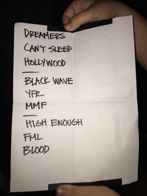 K. Flay Setlist Montreal