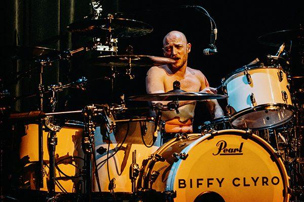 Biffy Clyro Ben drummer