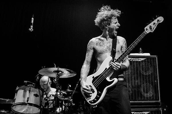 Biffy Clyro Cafe Campus Montreal James Bass