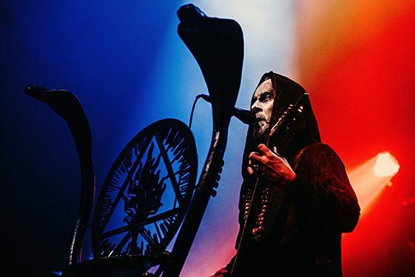 Nergal microphone stand
