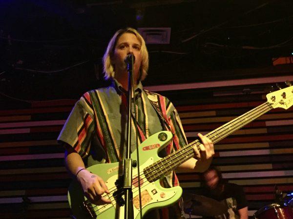 Lars on bass - Palehound