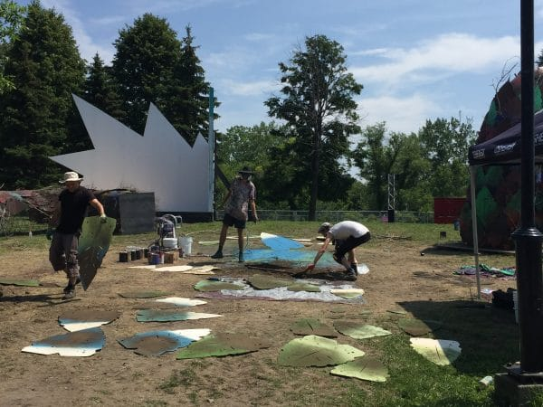 Osheaga Art Installations
