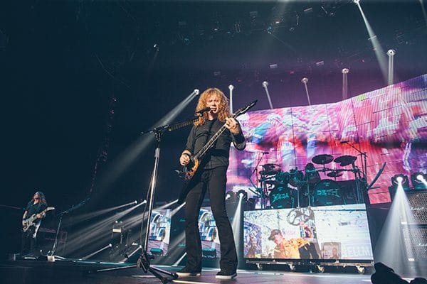 Megadeth place bell montreal