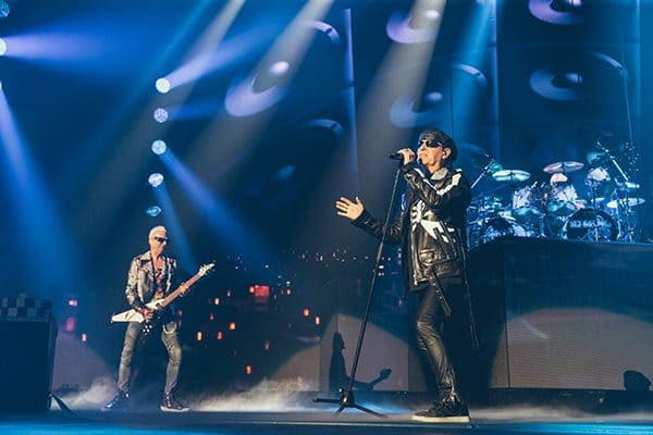 Scorpions photos place bell montreal