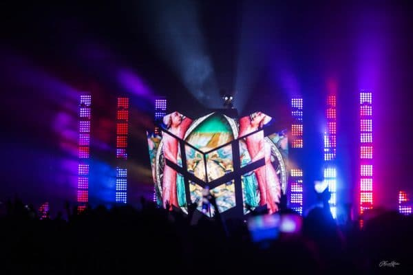 Deadmau5 at the Bell Center in Montreal, 13 October 2017