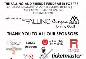 The Falling   Tyler Robinson Foundation