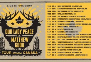 Our Lady Peace Matthew Good Montreal