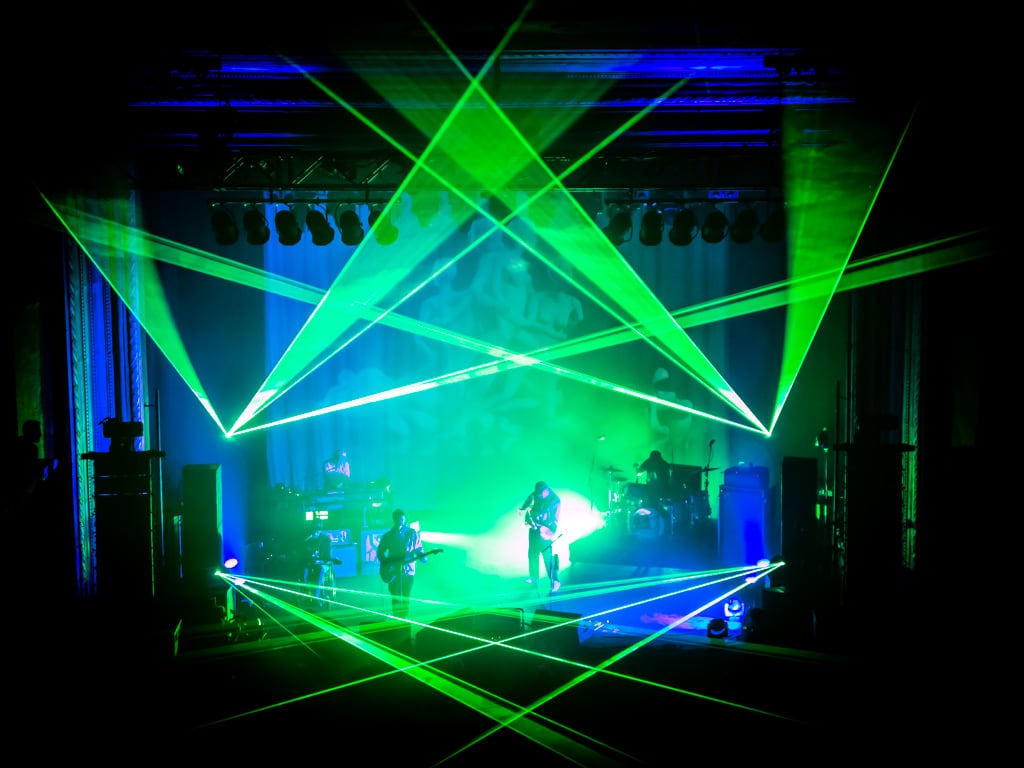 Portugal. The Man lazers