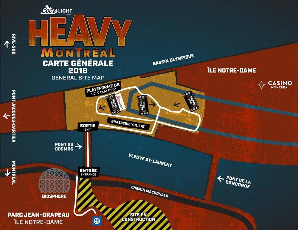 Heavy Montreal map 2018