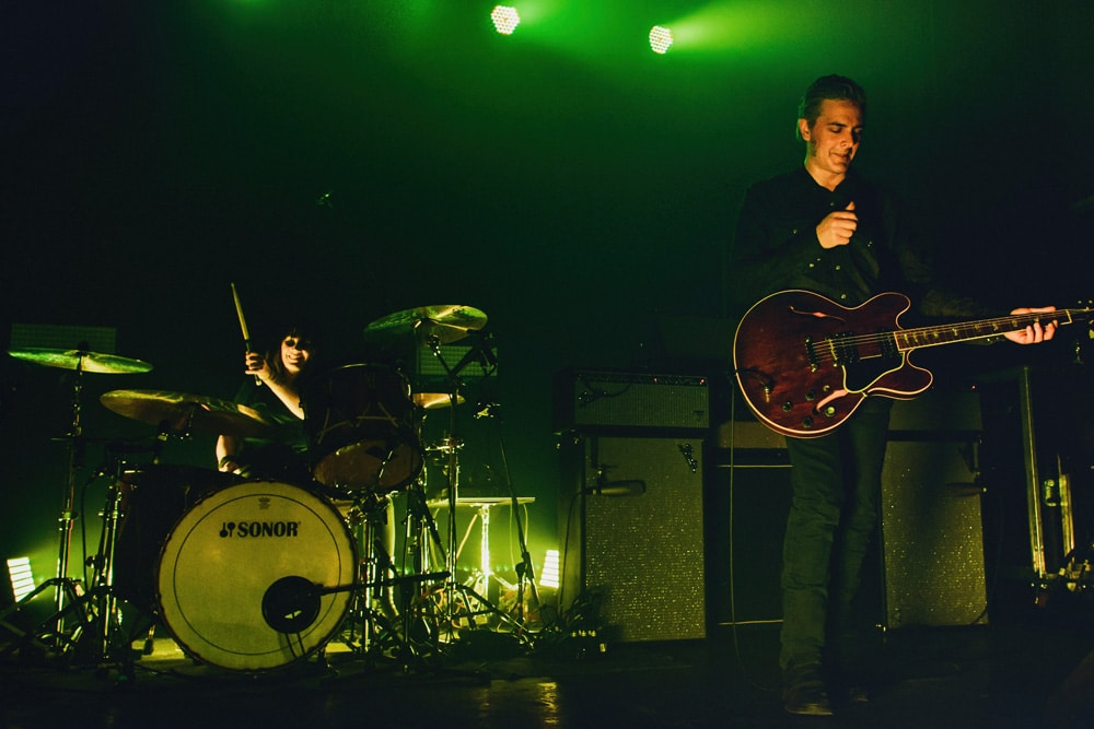 Black Rebel Motorcycle Club Montreal photos
