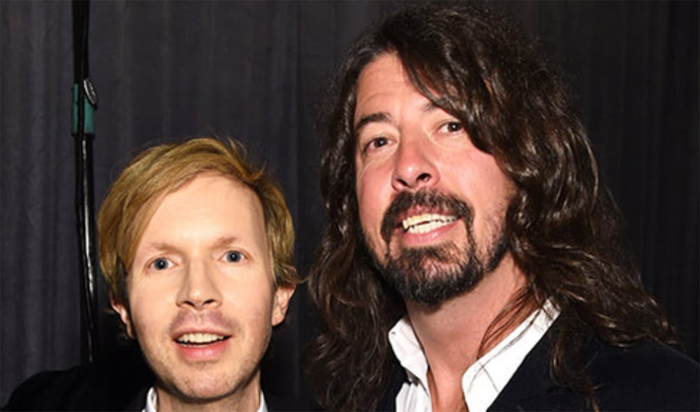 Beck Dave Grohl