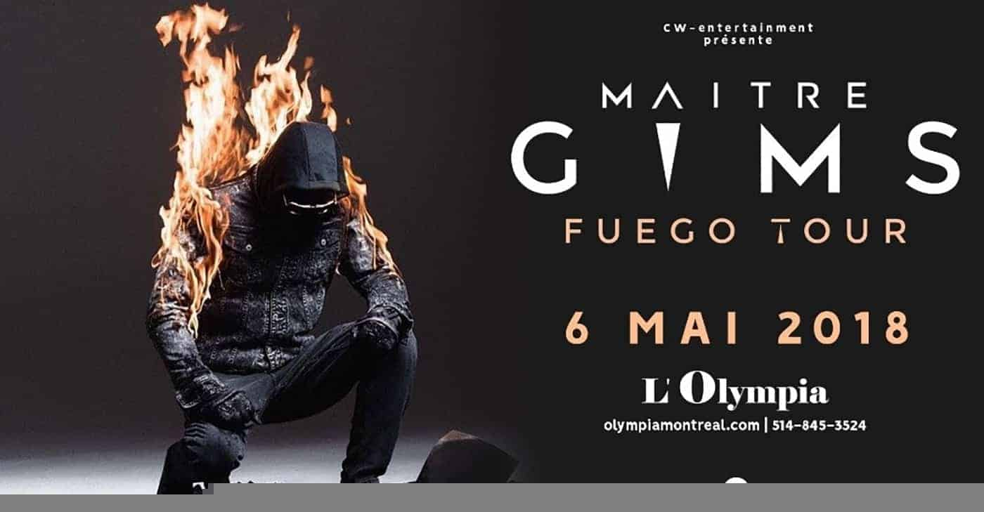 Maître Gims montreal