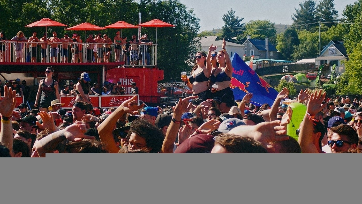 Montebello Rockfest 2018 crowd