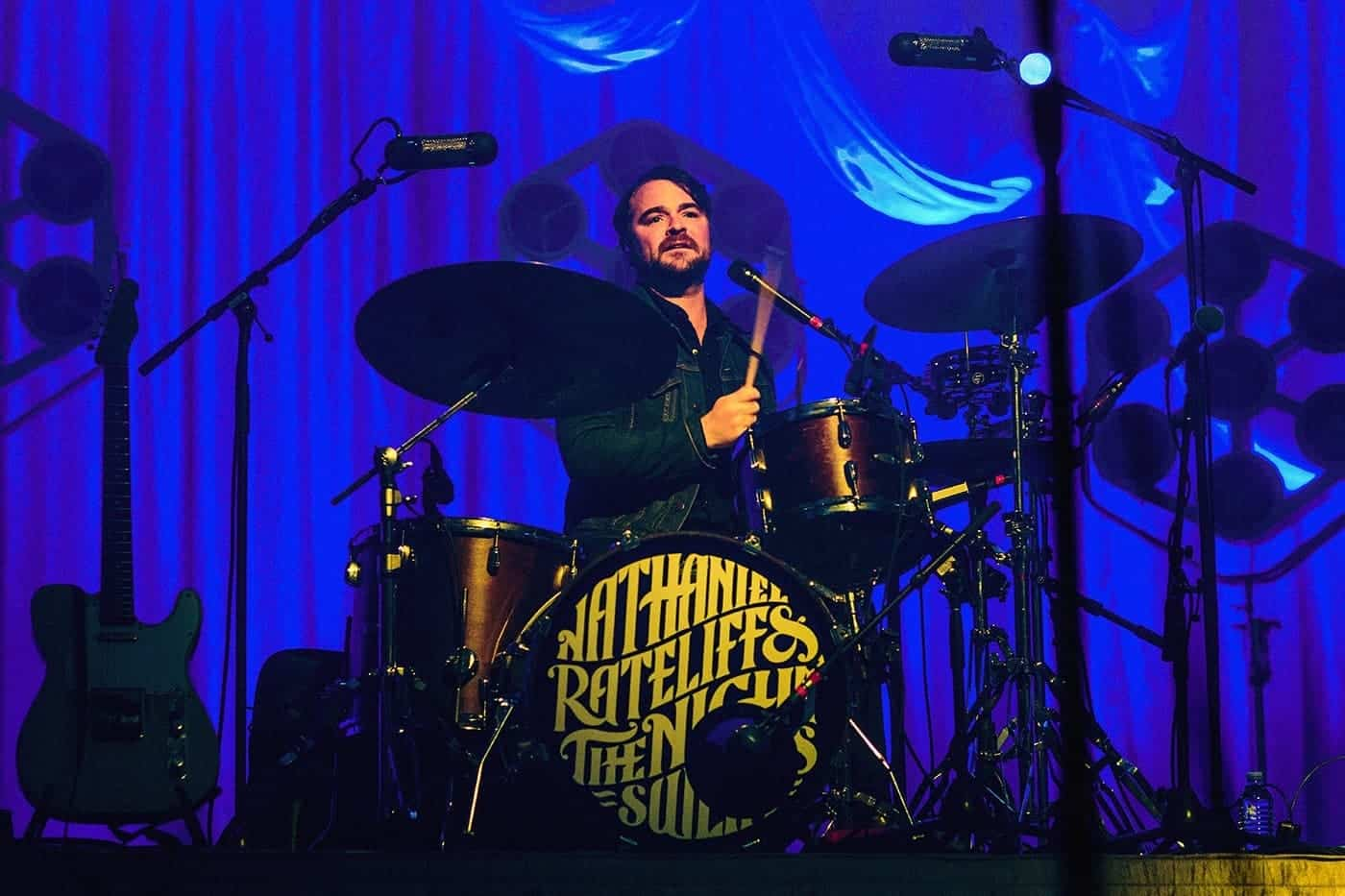 Nathaniel Rateliff & the Night Sweats drummer