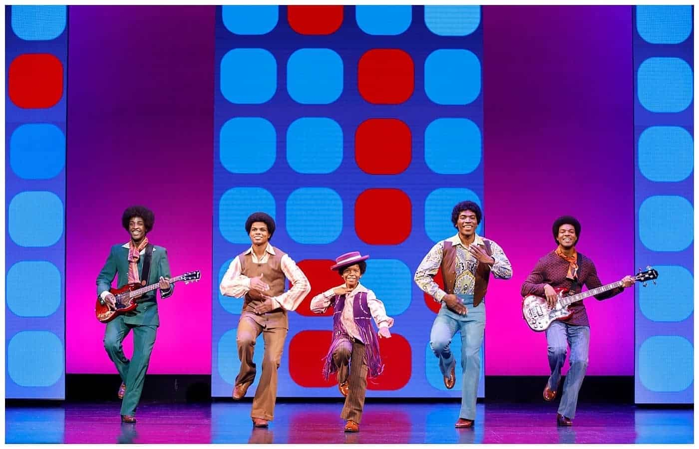 MOTOWN: THE MUSICAL jackson 5