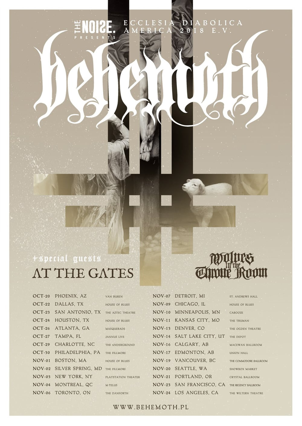 Behemoth montreal mtelus tickets