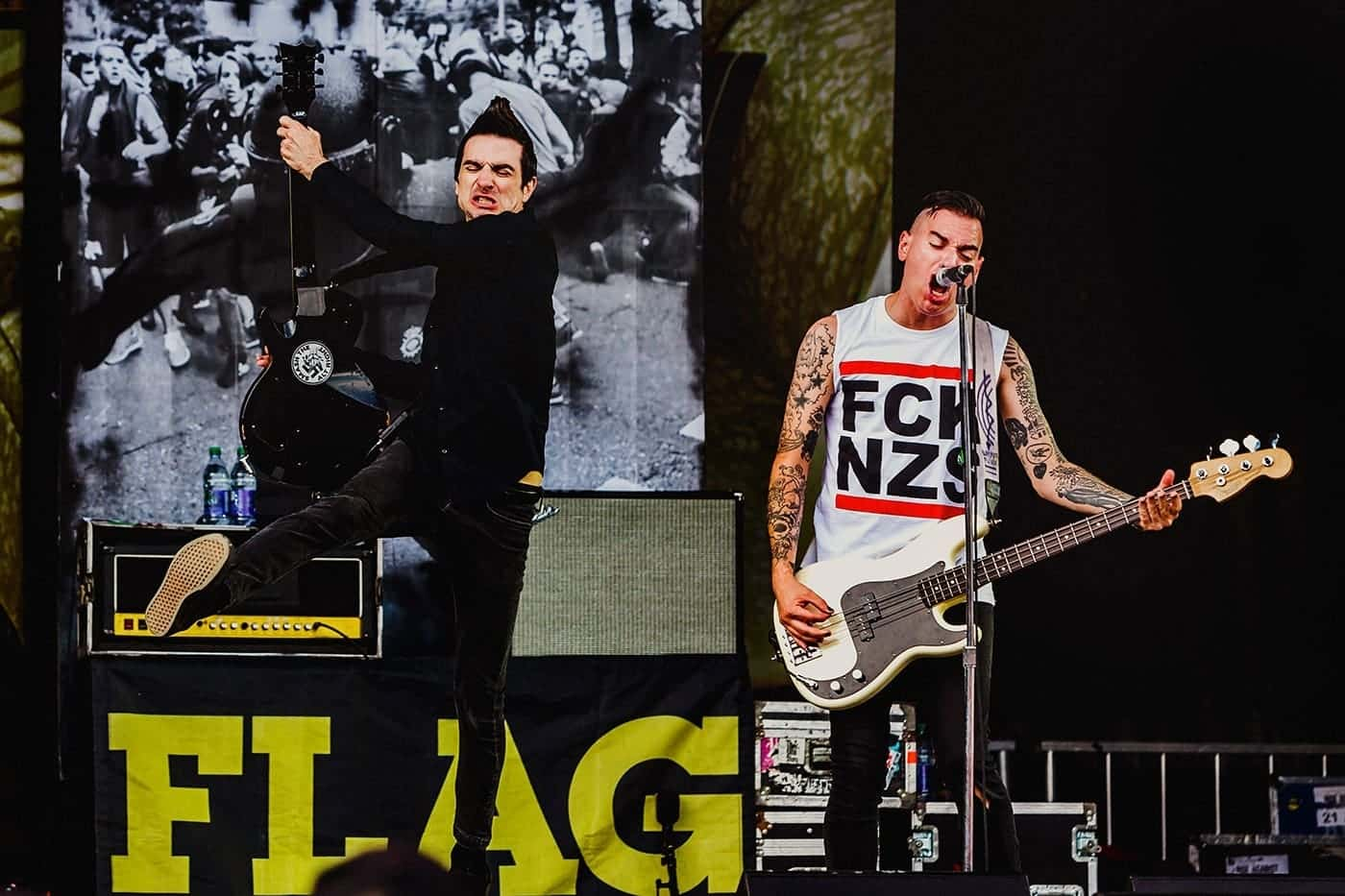 Anti Flag 77 Montreal