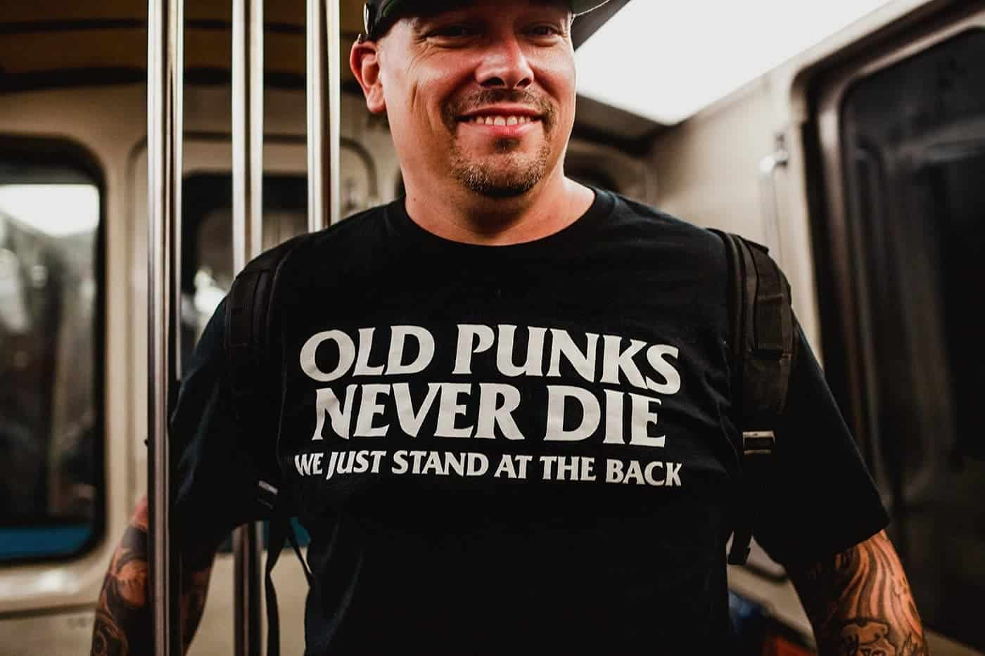 old punks never die shirt