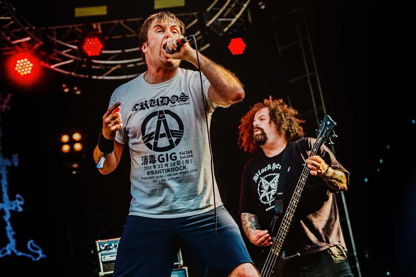 napalm death heavy montreal
