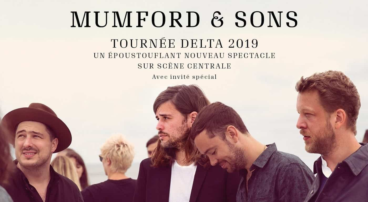 Mumford & Sons Montreal Bell Centre