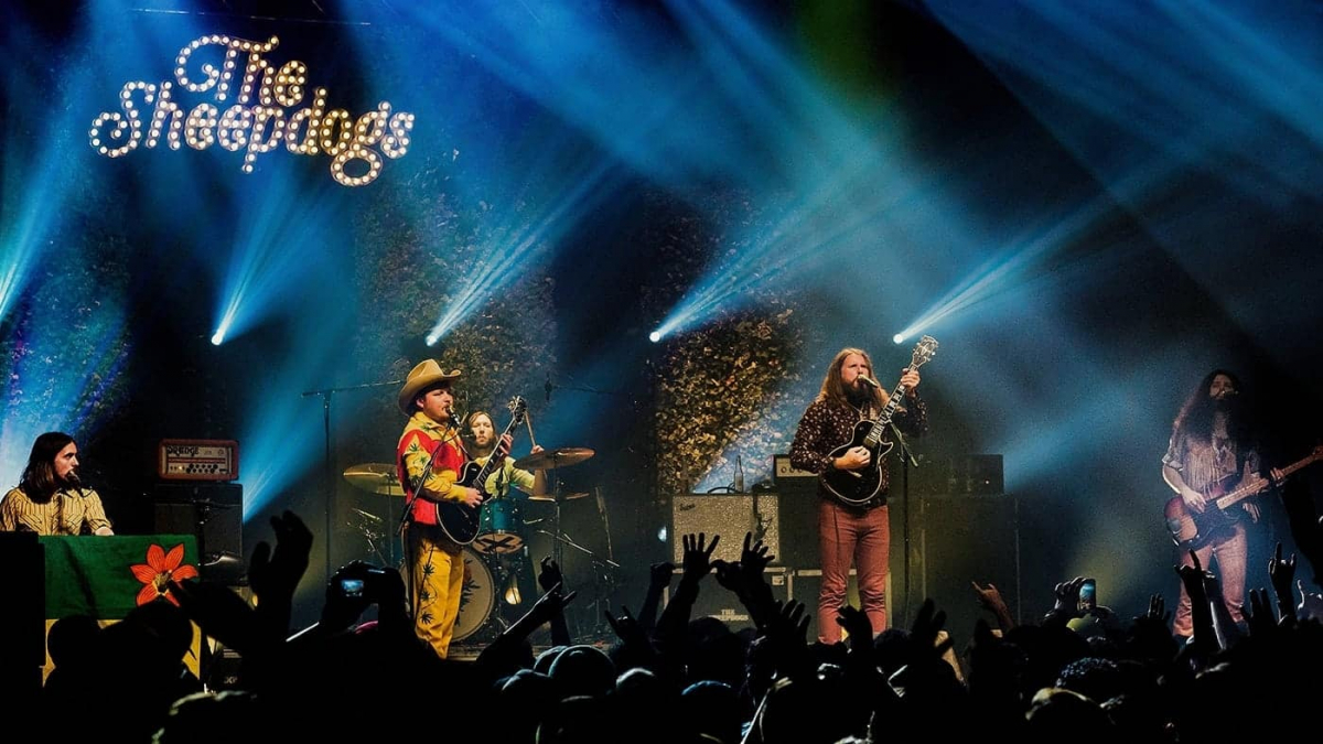 The Sheepdogs band in Montreal