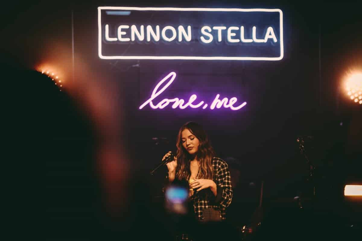 Lennon Stella on stage at L'Astral, Montreal