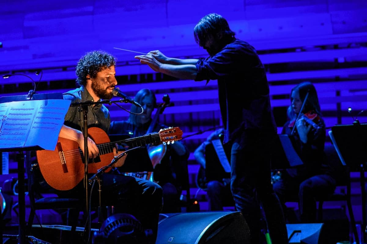 José Gonzalez & The String Theory Orchestra @ Place Des Arts