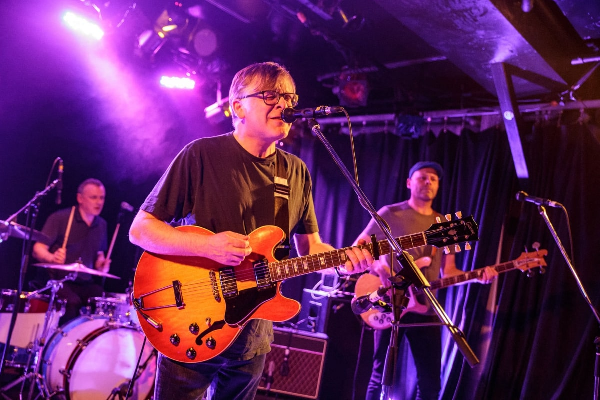 Teenage Fanclub live at Petit Campus in Montreal, Canada
