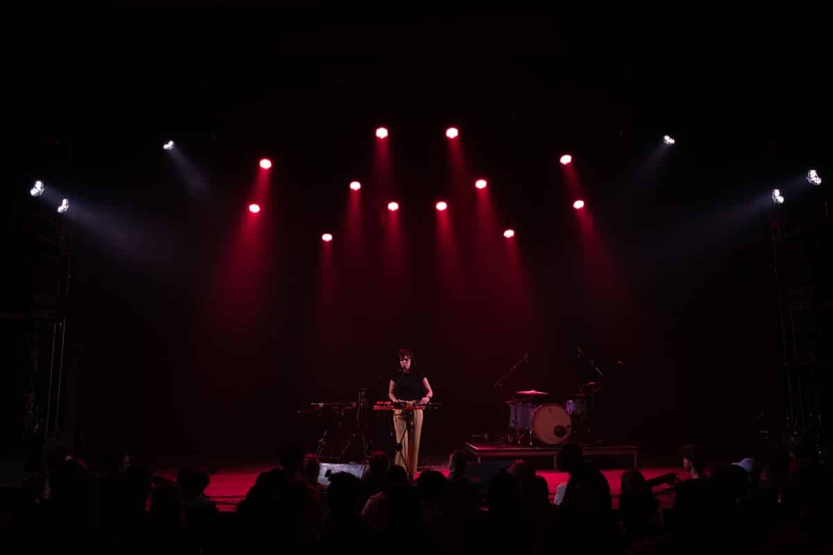 L.A. Foster onstage at Montreal's Corona Theatre