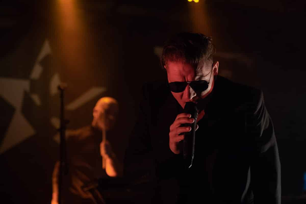 Nitzer Ebb in concert at SAT in Montreal